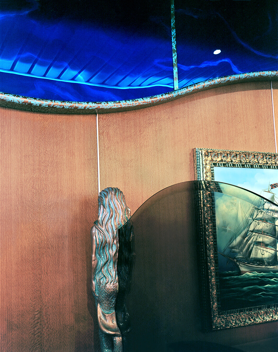 Mermaid Mounted, 2004