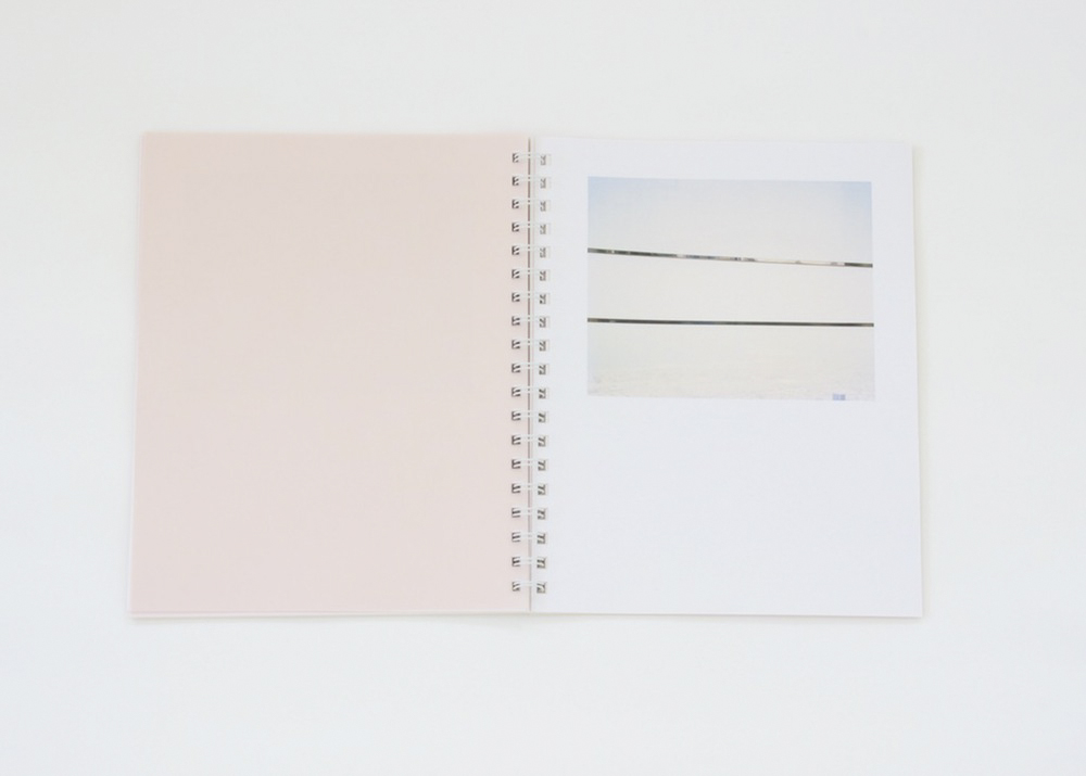 Local Time,  Monograph, Coil bound, 118 pages, Color Laser Prints with Multi-Colored Vellum (uniquely arranged in each book), Published by The Center for Ongoing Research & Projects, 2015, Ed. of 125